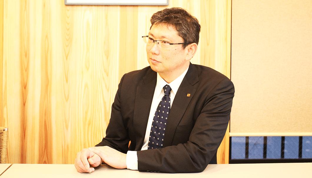 朝日酒造 営業本部国内事業部 部長の中山良二さん