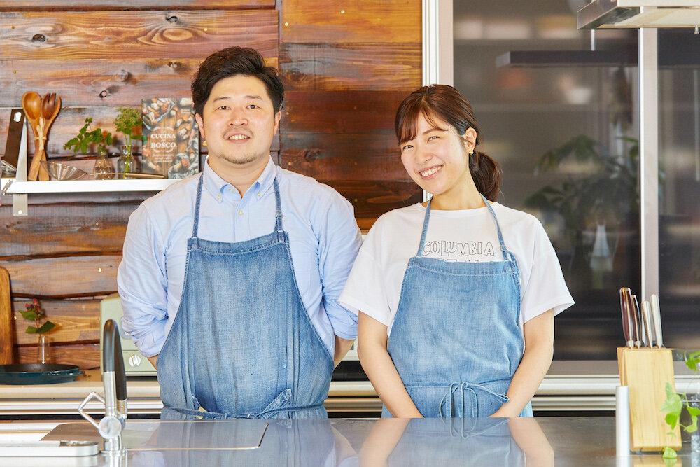 ぐっち夫婦 TatsuyaさんとSHINOさん 自宅キッチン
