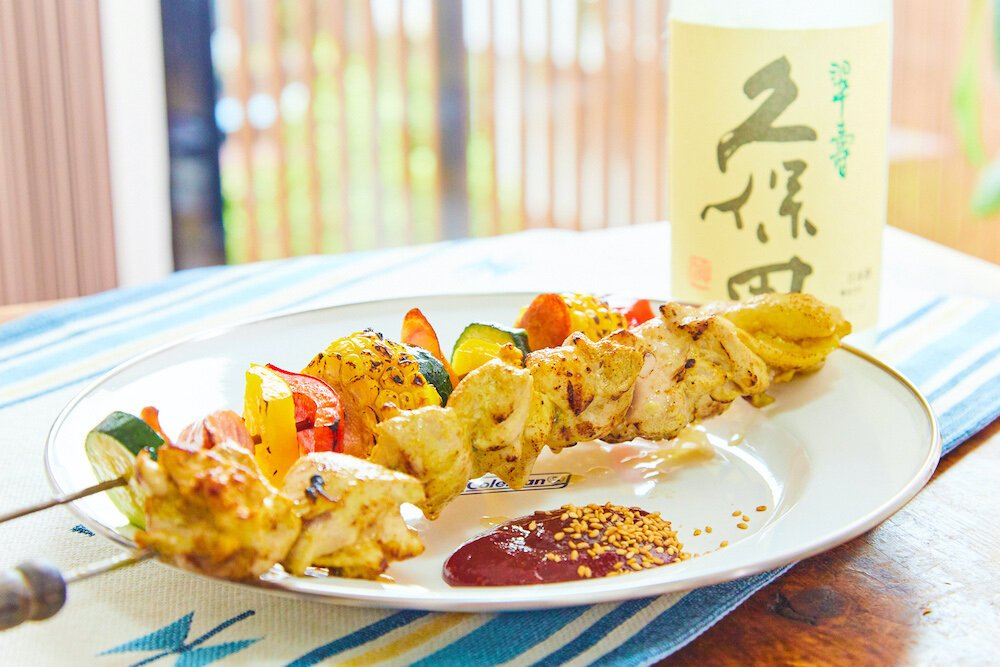 ぐっち夫婦レシピ チキンとカラフル野菜の串焼き コチュ...