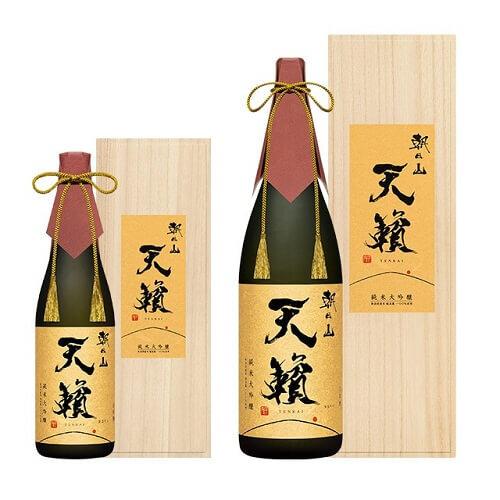 朝日山 天籟 越淡麗 純米大吟醸の商品画像