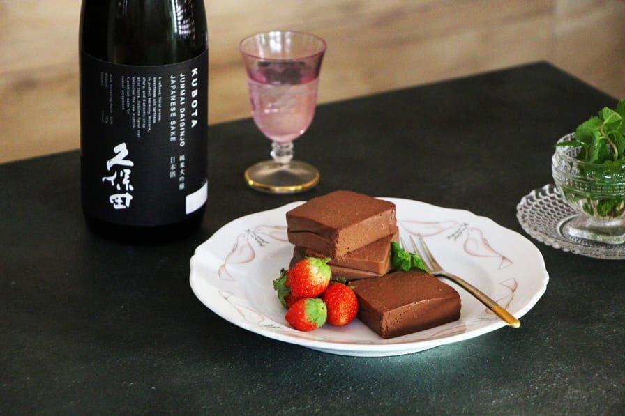 日本酒のショコラテリーヌ