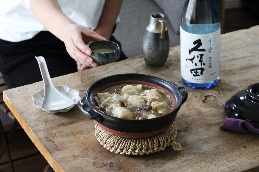 「海鮮水餃子鍋」