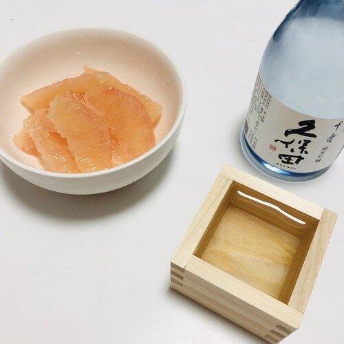 グレープフルーツと久保田