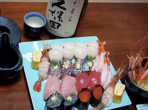 寿司と久保田千寿