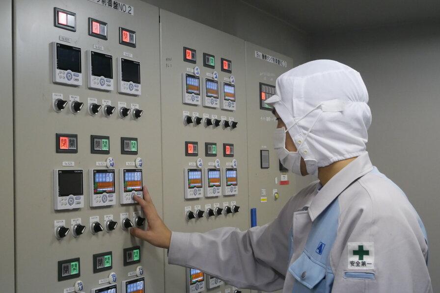 貯蔵タンクの温度管理