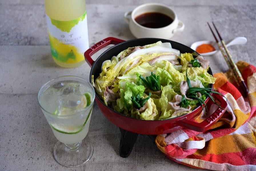 豚と白菜のミルフィーユ鍋