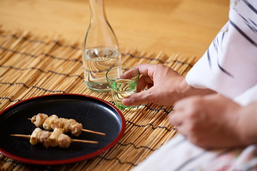 日本酒を嗜む