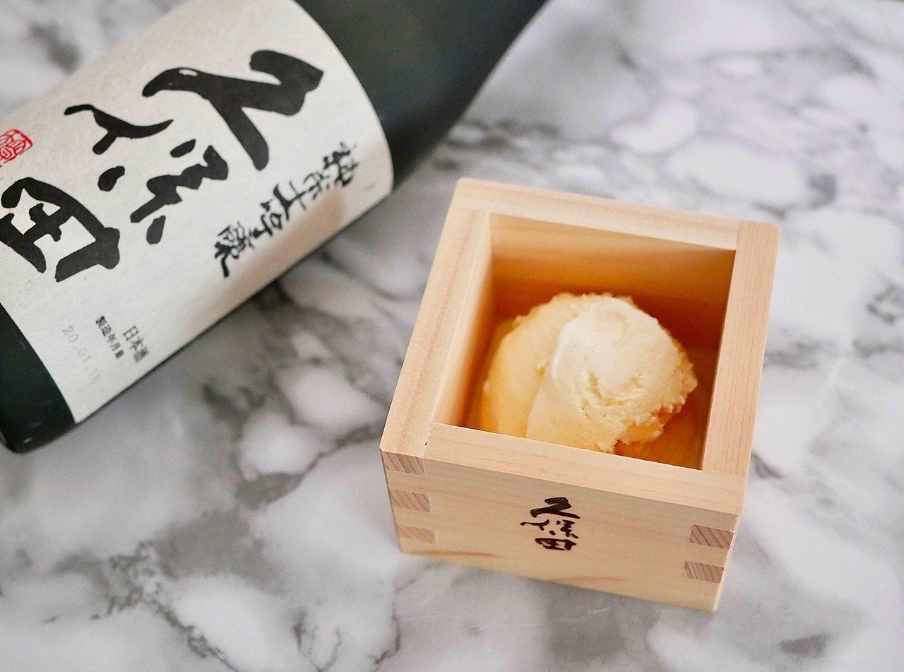 """日本酒をアイスクリームにかけるだけ!お家で手軽に """"バニラアイ酒"""" - KUBOTAYA"""