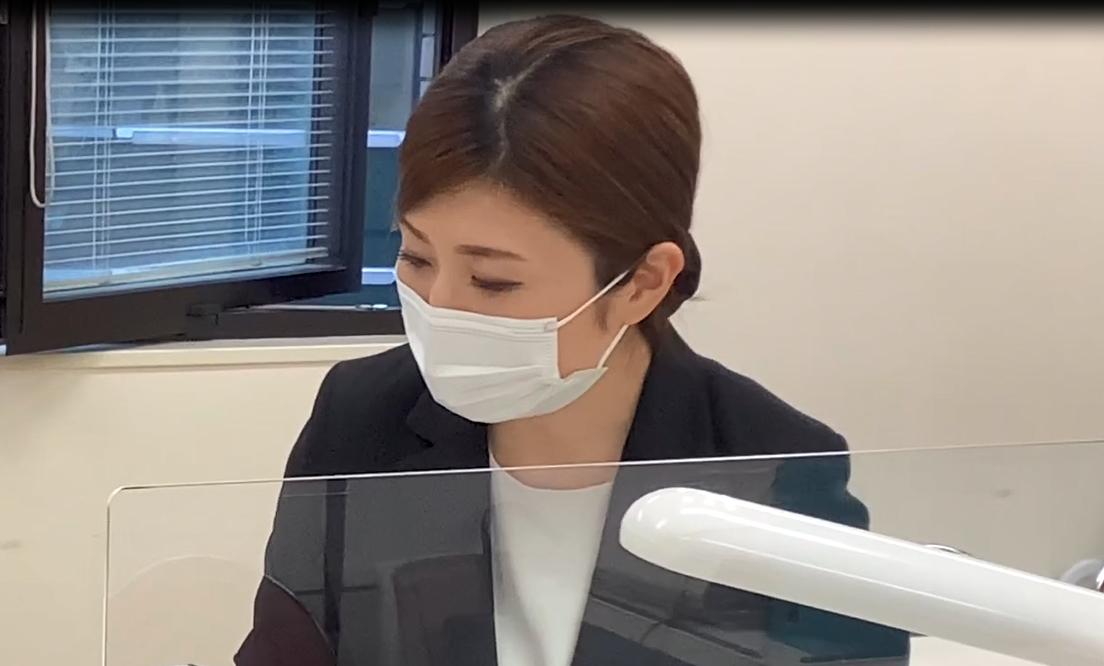 アテンダントスタッフ人事部(2013年入社) ネイル研修トレーナー Tさん