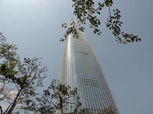 ソウルのロッテワールドタワー