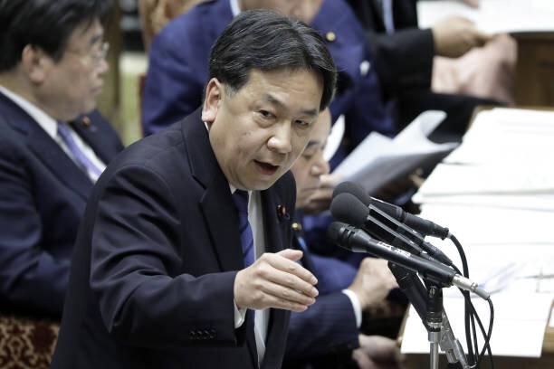 立憲民主党代表・枝野幸男