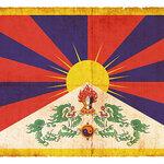 【矢板明夫】中国・インド紛争: 中印国境にはためく雪山獅子旗
