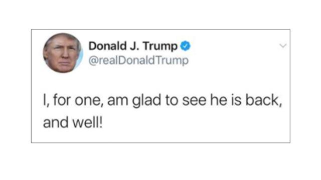 トランプ大統領5月時点のツイート