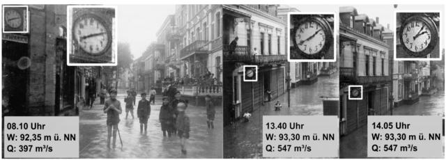 1910年の洪水時の写真