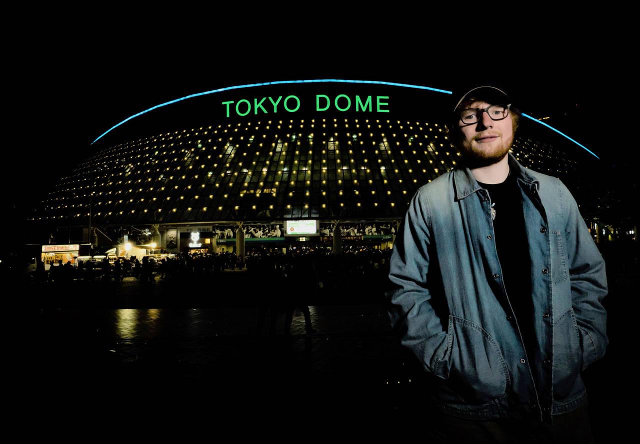 エド・シーラン、4月の東京ドーム公演SOLDOUT!大阪公演は残りわずか。