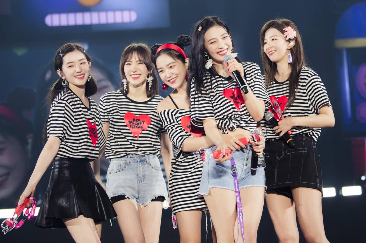 Red Velvet初の日本アリーナツアーを開催!日本オリジナル楽曲のリリースをサプライズ発表!