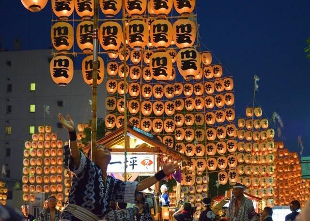 """8月に行きたい名物祭り""""秋田竿燈まつり"""""""