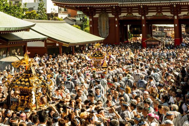"""5月に行きたい名物祭り""""三社祭"""""""