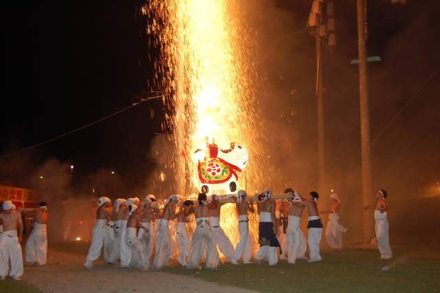 """4月に行きたい名物祭り""""手力の火祭"""""""