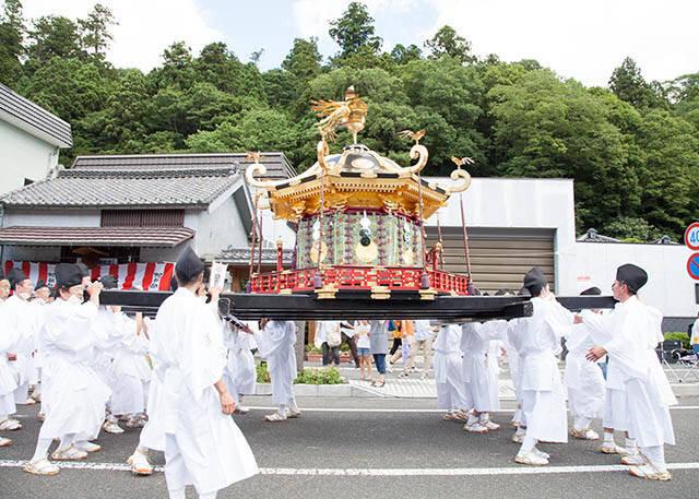 """3月に行きたい名物祭り""""塩釜神社帆手祭"""""""