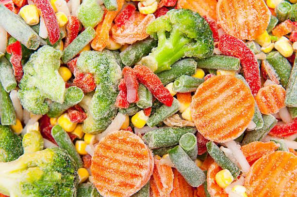 野菜を冷凍する時のポイント