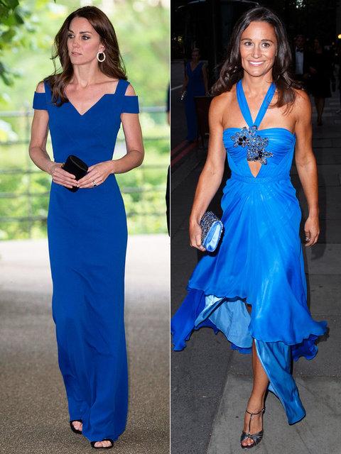 【ELLE】 イギリス王室のカラー、ロイヤルブルーで魅了|キャサリン妃vsピッパ 華麗なる最新ファッション対決10|エル・オンライン (17677)