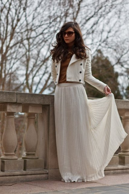 30 Beautiful Maxi Skirt For This Fall | ALL FOR FASHION DESIGN (18750)