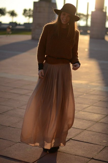 30 Beautiful Maxi Skirt For This Fall | ALL FOR FASHION DESIGN (18751)