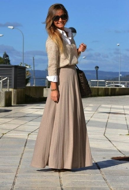 30 Beautiful Maxi Skirt For This Fall | ALL FOR FASHION DESIGN (18753)