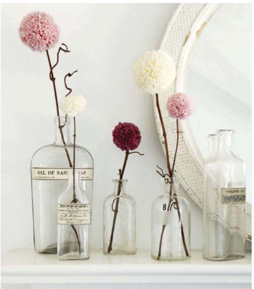 Weekend Project:  Pom Pom Flowers        |         Poppytalk (19186)