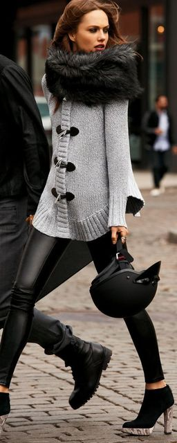 40 Lovely Faux Fur Fashion Attempts (20201)