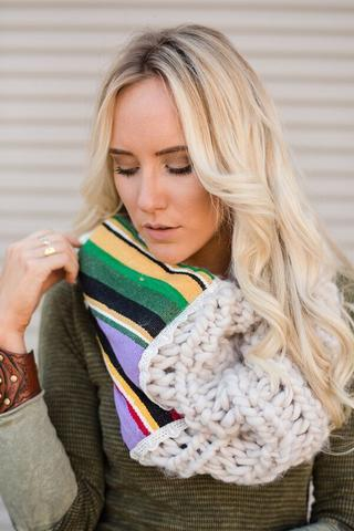 Fall 2016 Chunky Knit Women's Accessories Collection | Three Bird Nest | Retail Therapy (20384)