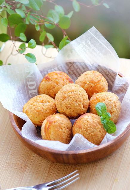 たこ焼き器で可愛い『ひと口チーズケーキ♡ 』お菓子、デザート : My blog kitchen♡ (21742)