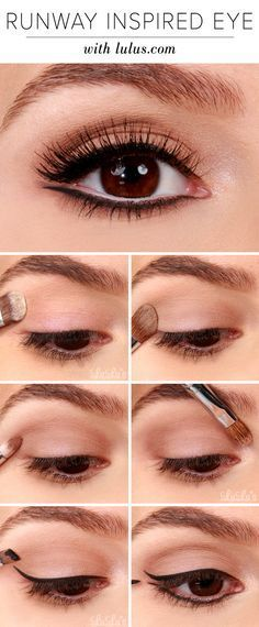 Lulus How-To: Runway Inspired Black Eyeliner Makeup Tutorial - Lulus.com Fashion Blog (26165)