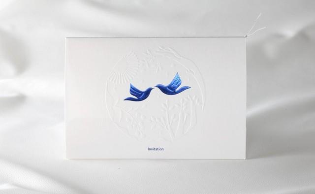 幸せの青い鳥・・ウェディングセレモニーでよく目にする「...