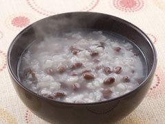 「小豆粥」のレシピです