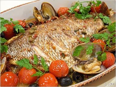 鯛の旨みと野菜の旨みが凝縮された簡単だけど豪華で美味し...