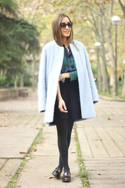 How To Wear Winter Pastels - Outfit Ideas - Just The Design (44668)