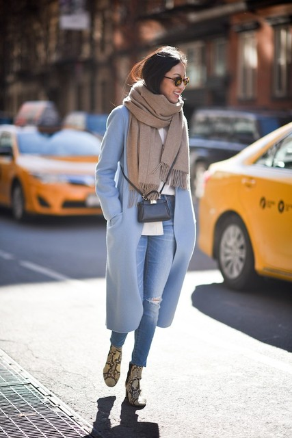 How To Wear Winter Pastels - Outfit Ideas - Just The Design (44669)