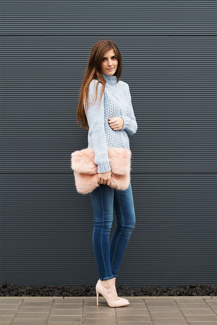How To Wear Winter Pastels - Outfit Ideas - Just The Design (44672)