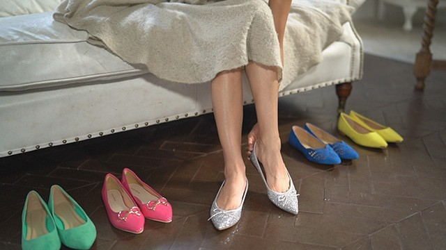 今日の靴はどれをセレクト?