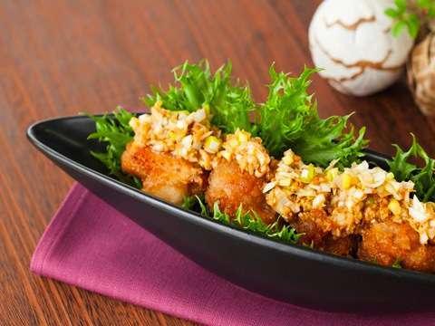から揚げねぎしょうゆ合わせ米麹ダレのレシピ・作り方 | Happy Recipe(ヤマサ醤油のレシピサイト) (52558)