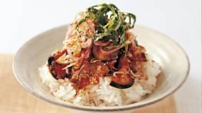 なすとじゃこの丼 レシピ 爲後 喜光さん|【みんなのきょうの料理】おいしいレシピや献立を探そう (56670)