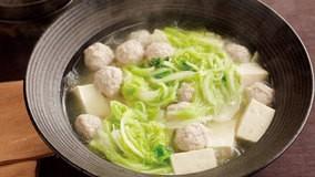 柔らかくクタッとした白菜の葉がおいしい中国風のスープ煮...
