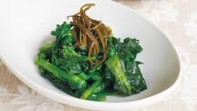 これ1品で野菜120g以上!昆布の風味で上品な味わいに。