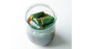 おいしい漬け汁がしみたきゅうりは、最高の箸休め。お弁当...