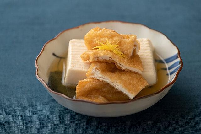 お豆腐とお揚げさんは、材料が一緒でもちょっと違う。 そ...