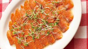 サーモンのハーブカルパッチョ レシピ 脇 雅世さん|【みんなのきょうの料理】おいしいレシピや献立を探そう (59870)