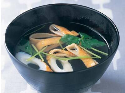 ちくわのすまし汁 レシピ 渡辺 あきこさん|【みんなのきょうの料理】おいしいレシピや献立を探そう (60614)