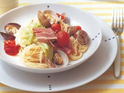 スパゲッティの代わりにカッペリーニを使って、5分でラク...